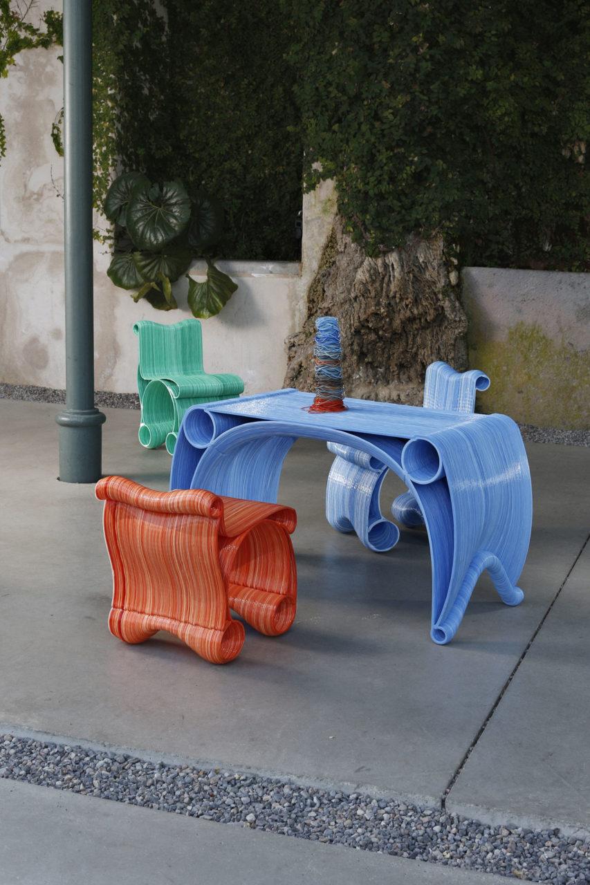 Robotic Playground furniture, Caracol-AM