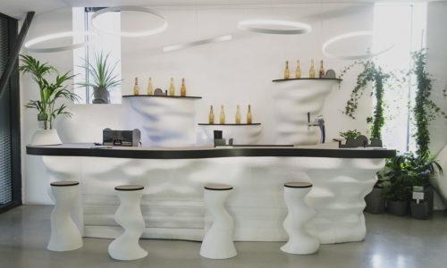 White 3D Bar, Milan Design Week 2019, Isola Design District