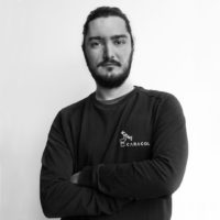 Simone Alzacuffi, 3D printing specialist, Caracol team