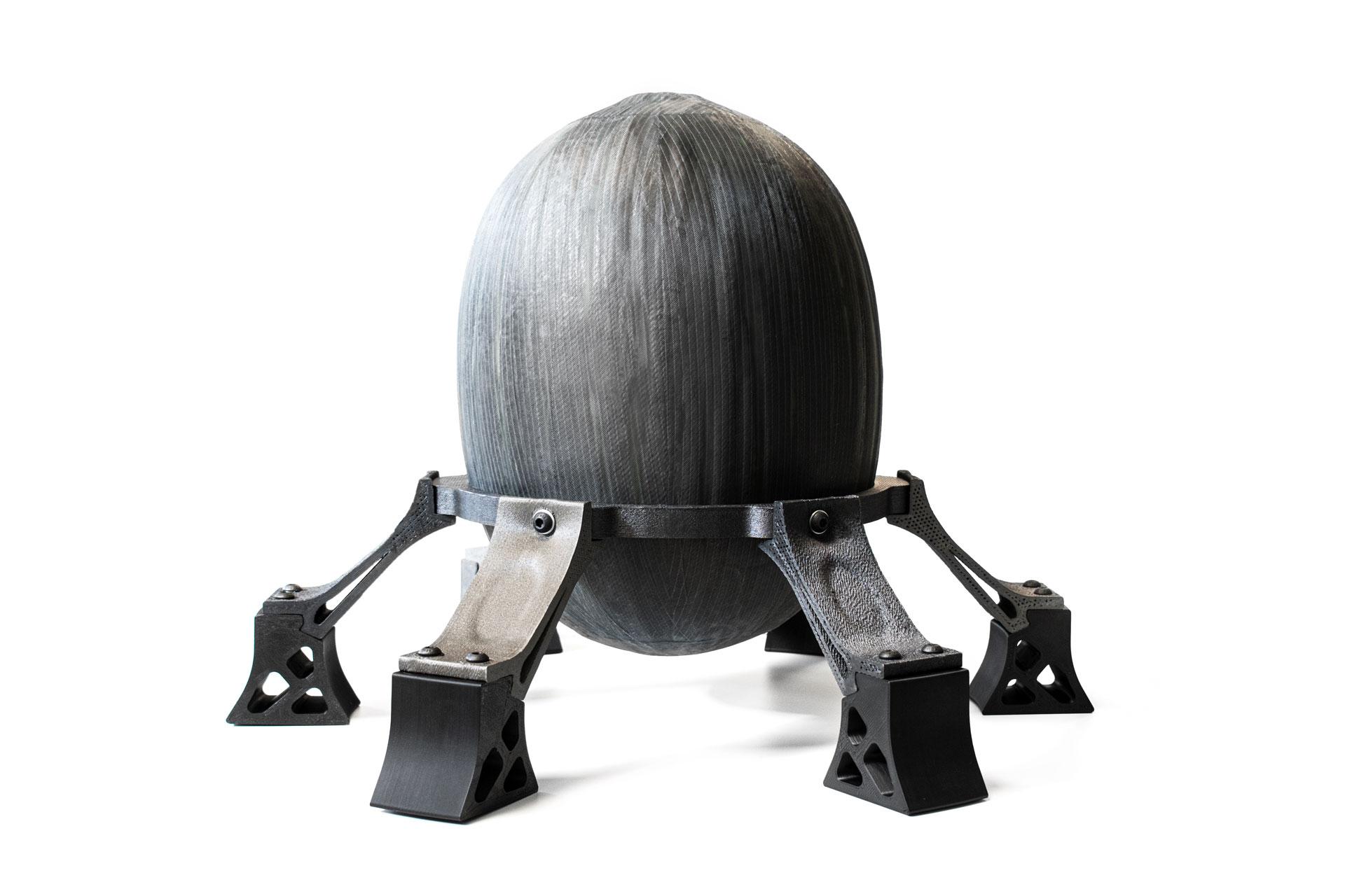 Caracol 3D Printed Satellite Tank