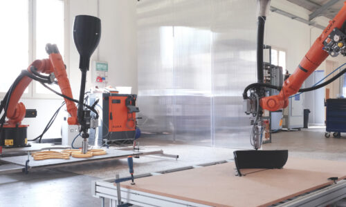 Caracol Progressiveness Robotic 3D Printing
