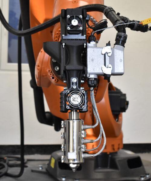 Caracol proprietary robotic technology AM 3D printing